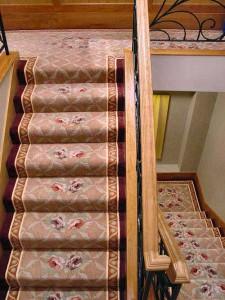 Poser une moquette sur escalier