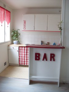 Construire un bar de cuisine