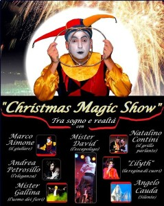 LOCANDINA Christmasmagic show 26 dicembre 2013_solo foto