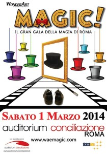 MAGIC gran gala magia roma 2014