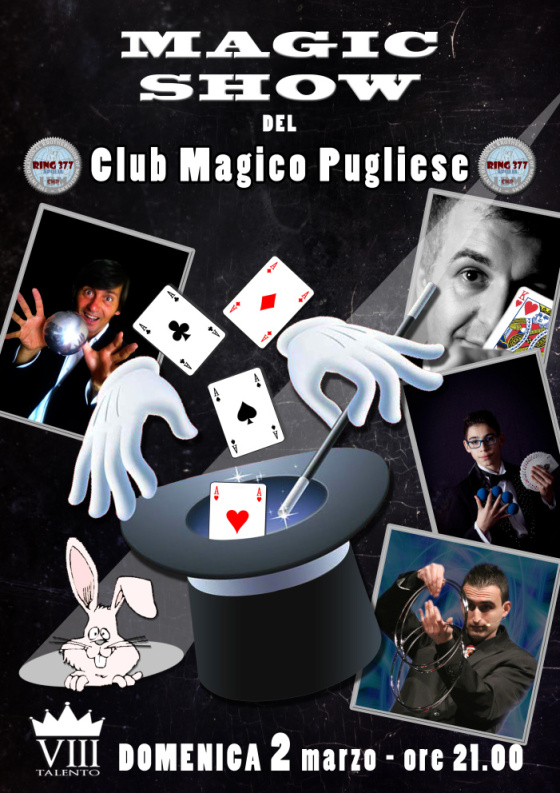 magic show ring 377 puglia