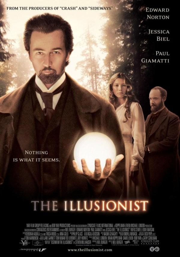 the illusionist locandina