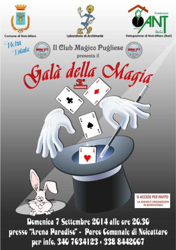 Club Magico Pugliese 3 Galà della Magia