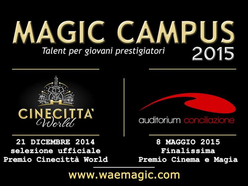 MAGIC CAMPUS 2015