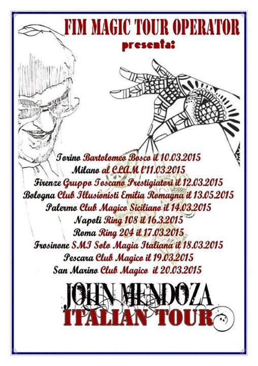 mendoza tour 2015
