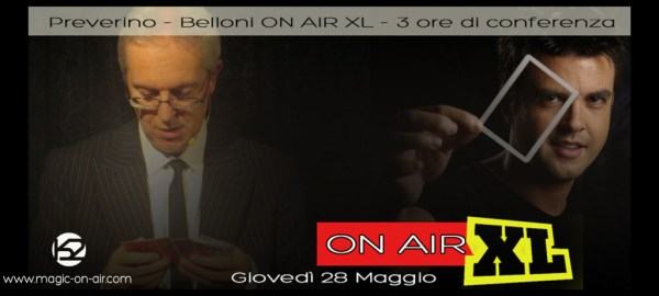 preverino belloni on air