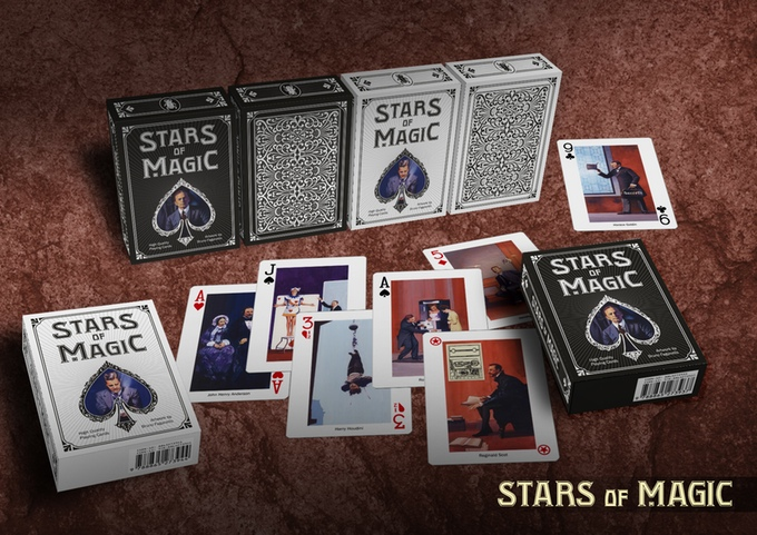 Stars of magic deck lo scarabeo