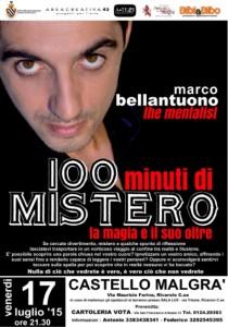 Marco Bellantuono_spettacolorivarolo100minuti
