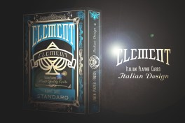 elements playing cards mazzo