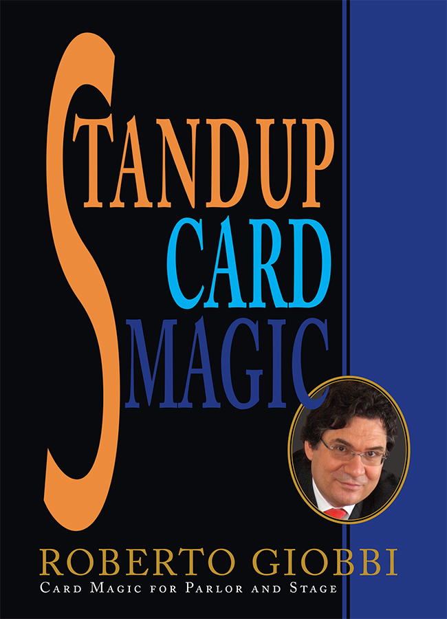 Roberto Giobbi Standup Card Magic CoverImage