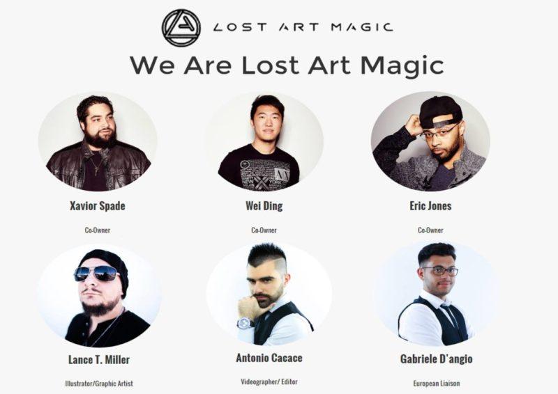 Lost Art Magic Antonio Cacace Gabriele D' Angiò