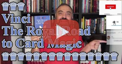 Giveaway 17: The Royal Road to Card Magic
