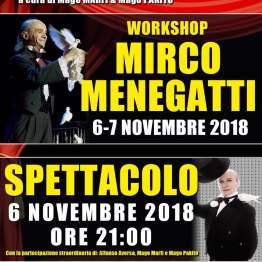 2018, Villaricca (NA), Spettacolo e Workshop con Mirco Menegatti