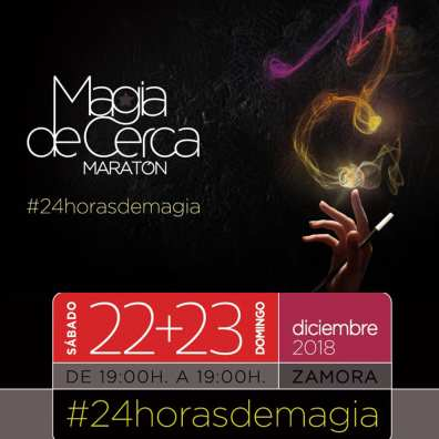 The Marahton of Magic 24 hours of Magic, streaming LIVE #24horasdemagia