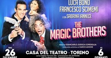 26/12/2018-6/1/2019, Torino, The Magic Brothers