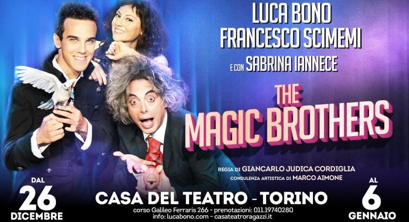 the magic brothers torino luca bono francesco scimemi sabrina iannece
