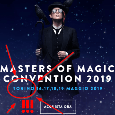 masters of magic torino #mom2019