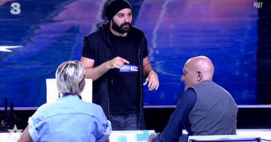 Andrea Paris in finale di Italia's Got Talent 2019