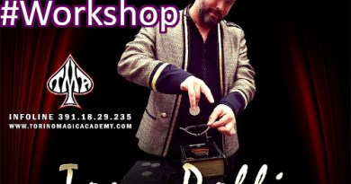 24-26/1/2020, Moncalieri (To), Tony Polli: Conferenza, Spettacolo, Workshop