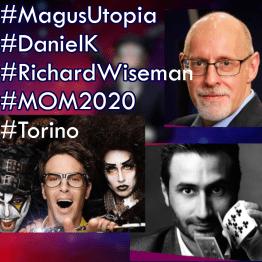 MOM2020 Richard Wiseman, Magus Utopia, Daniel K