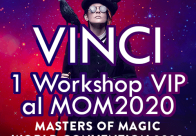 Giveaway 31: Vinci 1 #Workshop #VIP a #MOM2020