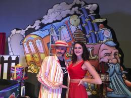 Federico Ruffoni Magic Bunny e Lisa Ruffoni