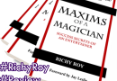 Maxims of a Magician by Richy Roy #Recensione #Review