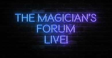 15-16/5/2020, The Magician's Forum LIVE!