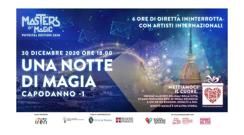 30/12/2020, Una Notte di Magia (Torino e Masters of Magic)