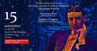 15/9/2021, Livorno, Serata Magica con Wetryk