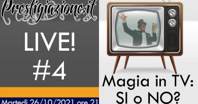 26/10/2021 Prestigiazione LIVE! #4 su YouTube!