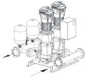Pumplösning för trycksatta stigarledningar från Presto