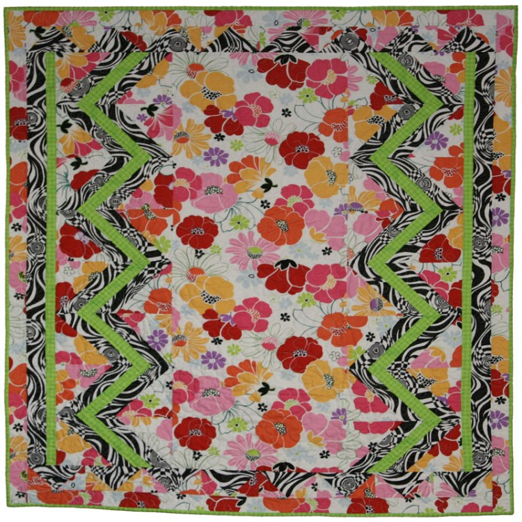 "Zoey's Quilt - 52"" X 58"""