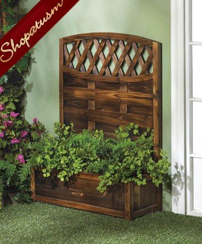 Beautiful Decorative Garden Planter Trellis Fir Wood