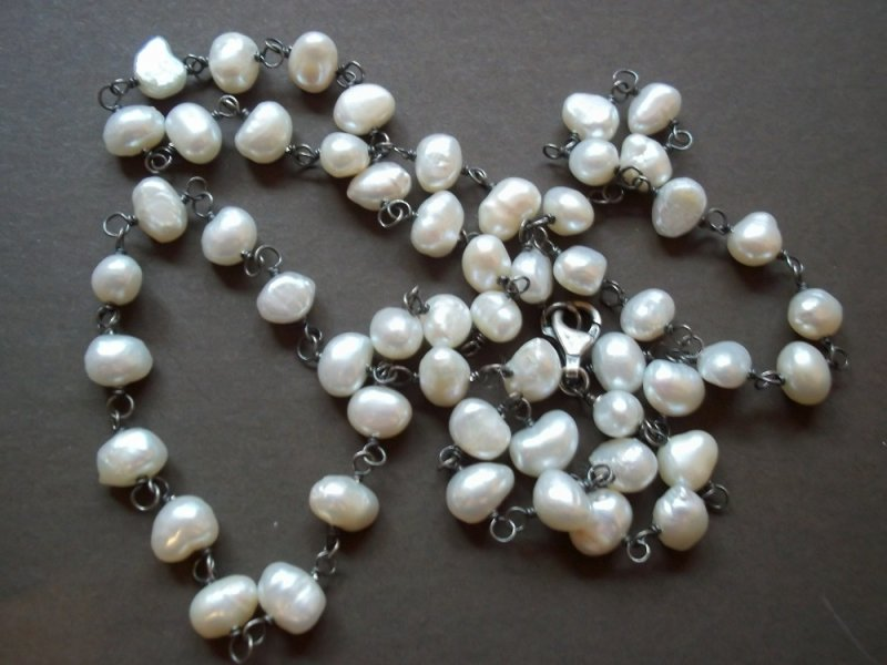 N1368 Silpada Freshwater Pearl Necklace