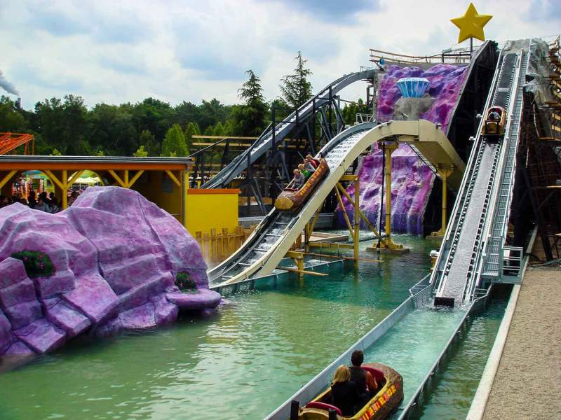Flume ride - Movie park