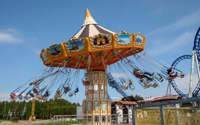 Flying swinger - Family ride