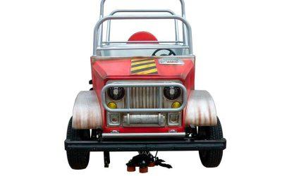 Safari car - Vehicle - Front