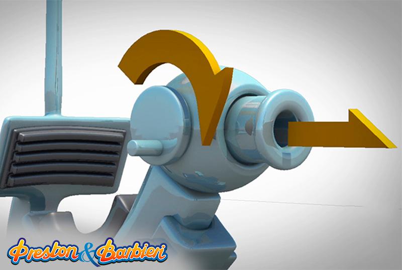 Water clash - shoting cannon
