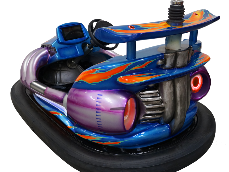 Bumper car - Hot Rod - back