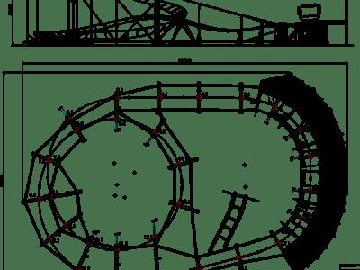 Mini coaster 17x11 Layout