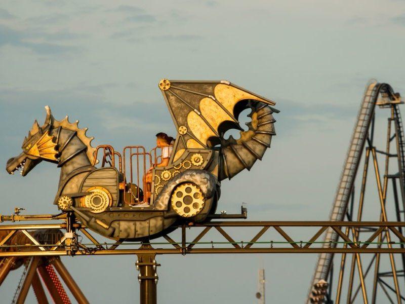 Monorail Dragon Energylandia - 2