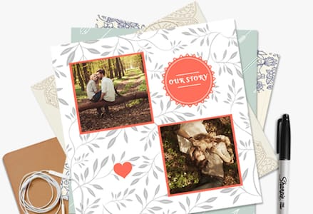 Free scrapbook cutouts, embellishments, and online resources for scrapbooking templates, generators, and printable stationery. Scrapbook Printing Prestophoto