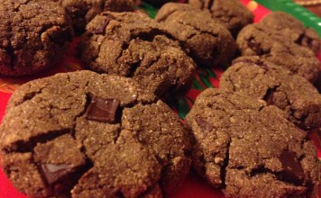 double chocolate, chocolate cookies