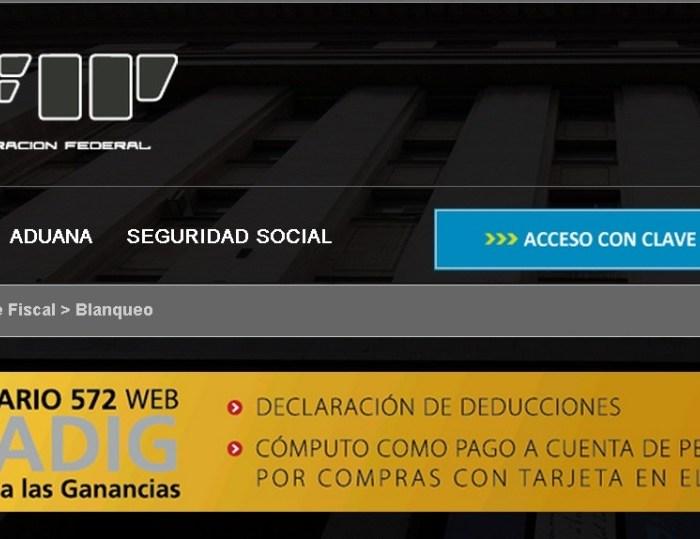 Cómo completar el formulario 572 web (SIRADIG)