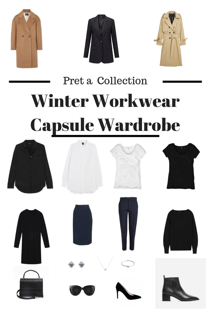 Winter Workwear Capsule Wardrobe