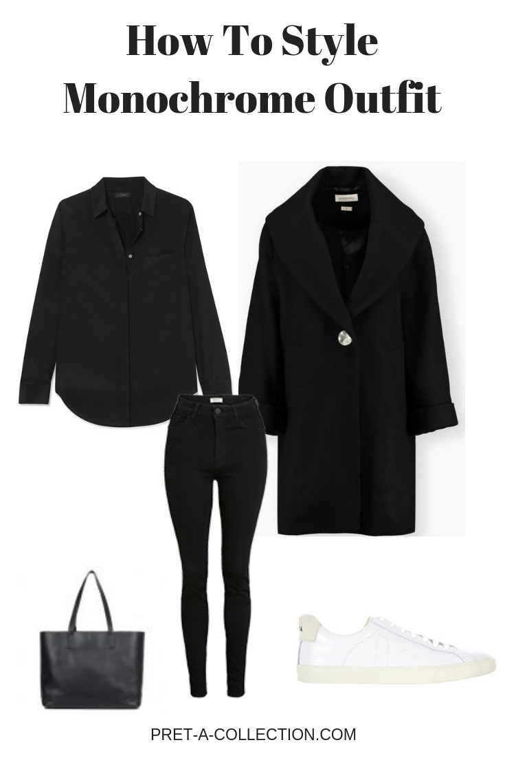 How To Style Monochrome Outfit