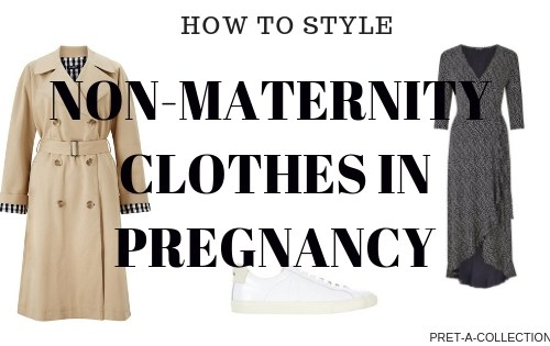 How to style a non-maternity clothes in pregnancy