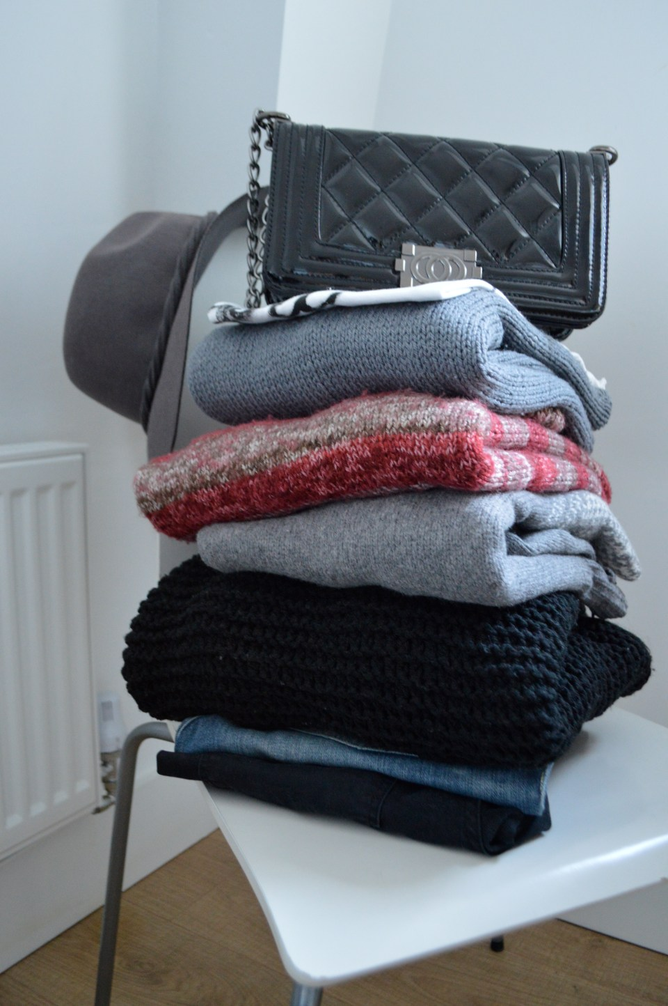 Capsule Wardrobe my way - clear out