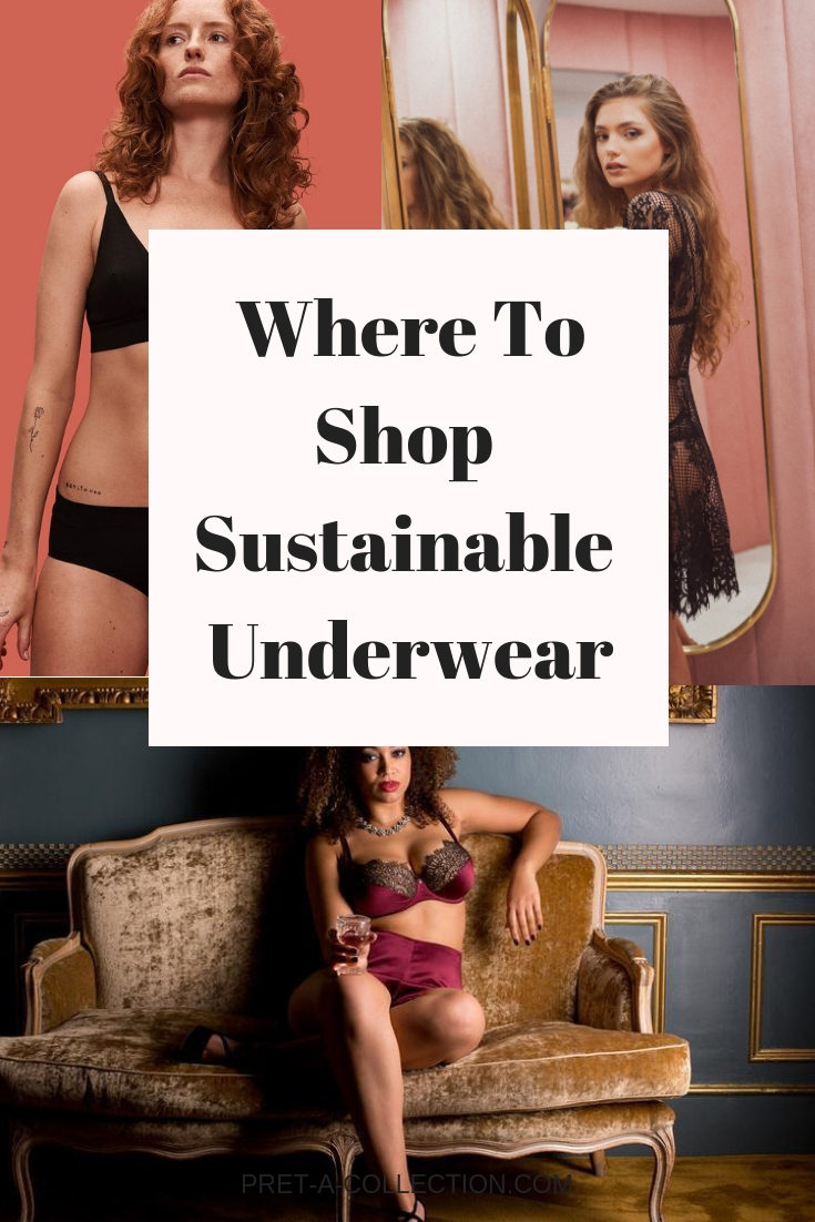 Where to shop sustainable underwear